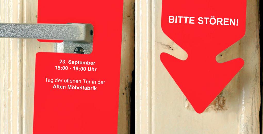 BITTE STÖREN! Tag der offenen Tür in der Alten Möbelfabrik